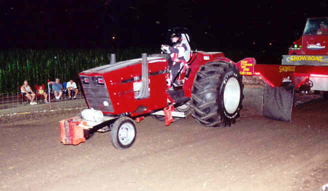 how to build a pulling tractor